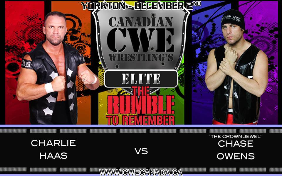 Huge 1st Time Ever Encounter Signed For Yorkton - CWE