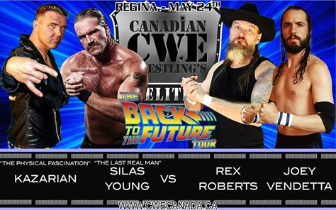 Cwe Presents The Back To The Future Tour In Regina Sk Cwe