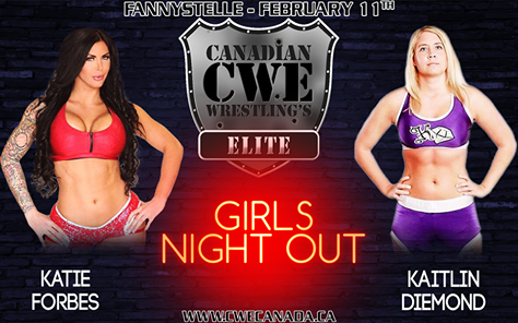 Women Wrestling Takes Centre Stage February 11th - CWE